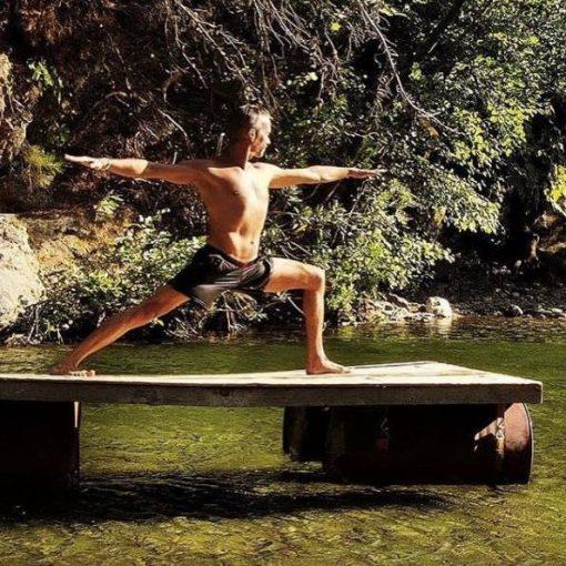 Hızır Kamp'ta Yoga