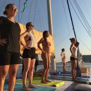 Mavi yolculuk ve yoga